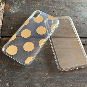 Set of 2 see trough cases for IPhone XR
